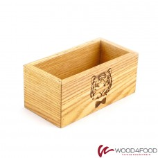 купить Wooden napkin holder, 160 * 80 * 70 mm, ash