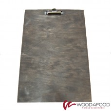 купить Clipboard with clip 230 * 340 * 5 mm, plywood