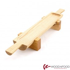 купить Wooden board for serving snacks, 455 * 70 * 35 mm, ash