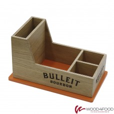 купить Wooden organizer 280 * 170 * 80 mm, veneered plywood