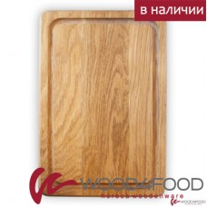 купить Oak wood serving board 250 * 200 * 23mm