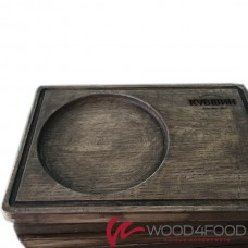 купить Wooden board for serving dishes 300 * 190 * 25 mm, ash